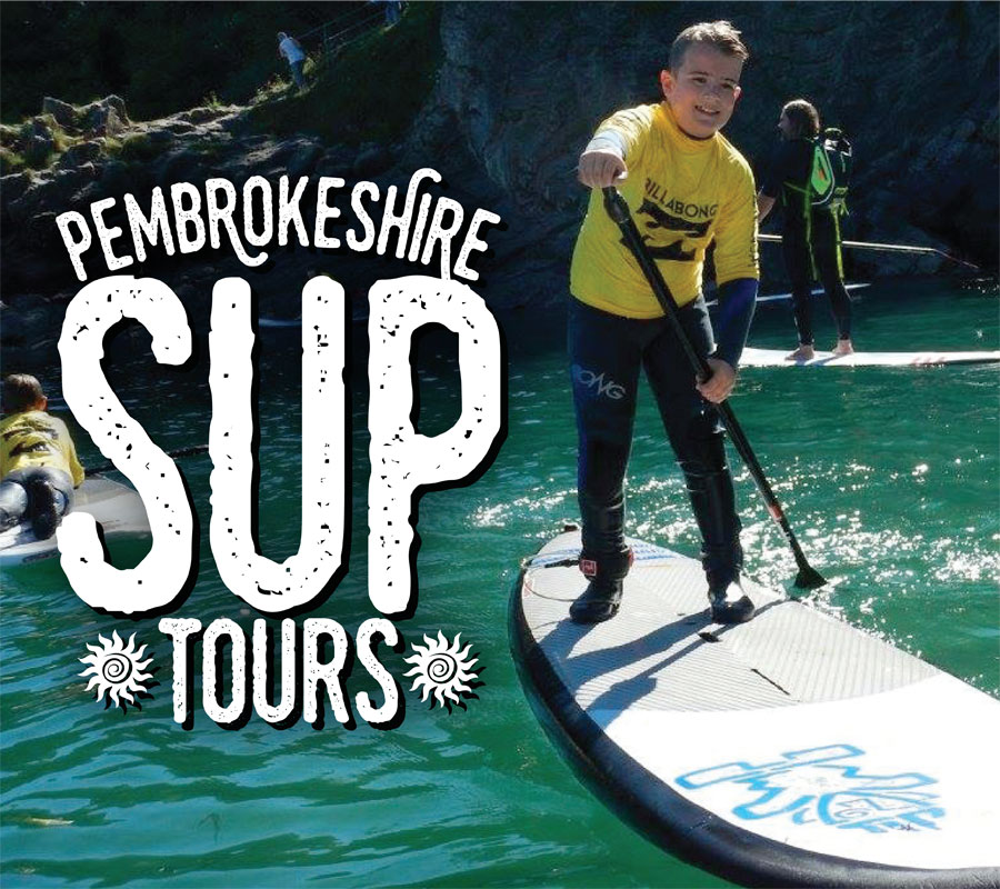 Stand Up Paddle Boarding Pembrokeshire